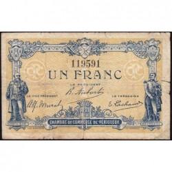Périgueux - Pirot 98-23 - 1 franc - 05/11/1917 - Etat : B+