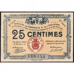 17 - Rochefort-sur-Mer - Syndicat du Commerce et de l'Industrie - 25 centimes - 2e série - Etat : SUP+