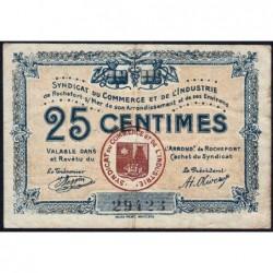 17 - Rochefort-sur-Mer - Syndicat du Commerce et de l'Industrie - 25 centimes - Sans série - Etat : TB