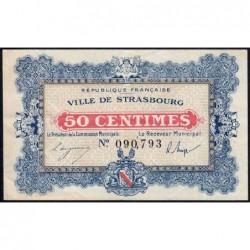 Strasbourg - Pirot 133-1a - 50 centimes - 11/11/1918 - Etat : TTB