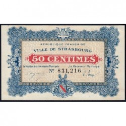 Strasbourg - Pirot 133-1a - 50 centimes - 11/11/1918 - Etat : SPL+