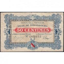 Strasbourg - Pirot 133-1b - 50 centimes - 11/11/1918 - Etat : TB