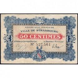 Strasbourg - Pirot 133-1b - 50 centimes - 11/11/1918 - Etat : TTB-