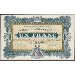 Strasbourg - Pirot 133-4 - 1 franc - 11/11/1918 - Etat : pr.NEUF