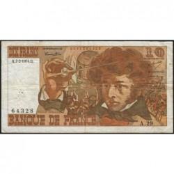 F 63-03 - 07/02/1974 - 10 francs - Berlioz - Série A.29 - Etat : TB