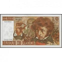 F 63-04 - 04/04/1974 - 10 francs - Berlioz - Série T.37 - Etat : SUP+