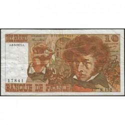 F 63-09 - 06/03/1975 - 10 francs - Berlioz - Série N.152 - Etat : TB