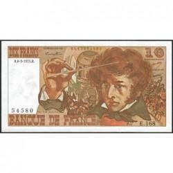 F 63-09 - 06/03/1975 - 10 francs - Berlioz - Série E.168 - Etat : TTB+
