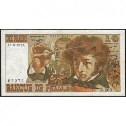 F 63-15 - 04/12/1975 - 10 francs - Berlioz - Série B.263 - Etat : TB
