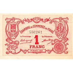 Le Mans - Pirot 69-12 - 1 franc - 01/03/1917 - Etat : SUP+