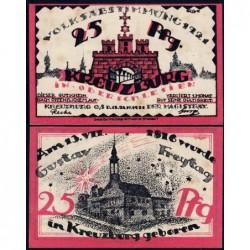 Pologne - Notgeld - Kreuzburg (Kluczbork) - 25 pfennig - 18/10/1921 - Etat : SUP