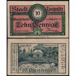 Pologne - Notgeld - Liegnitz (Legnica) - 10 pfennig - 1920 - Etat : SPL