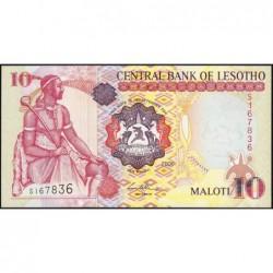 Lesotho - Pick 15d - 10 maloti - Série S - 2006 - Etat : NEUF