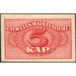 Lettonie - Pick 9a - 5 kapeikas - 1920 - Etat : SUP