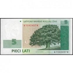 Lettonie - Pick 53a - 5 lati - Série AR - 2006 - Etat : NEUF