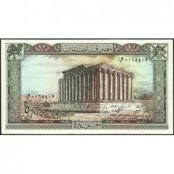 Liban - Pick 65d - 50 livres - 01/01/1988- Etat : NEUF