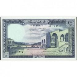 Liban - Pick 66b_5 - 100 livres - 01/04/1978 - Etat : NEUF