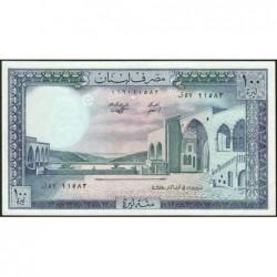 Liban - Pick 66c_2 - 100 livres - 01/03/1985 - Etat : SPL