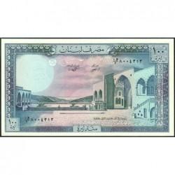 Liban - Pick 66d - 100 livres - 01/01/1988 - Etat : NEUF
