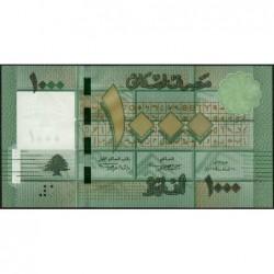Liban - Pick 90a - 1'000 livres - 24/02/2011 - Etat : NEUF