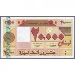 Liban - Pick 87 - 20'000 livres - 22/11/2004 - Etat : NEUF