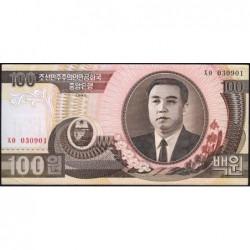 Corée du Nord - Pick 43a - 100 won - 1992 - Etat : SUP+