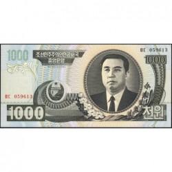 Corée du Nord - Pick 45b - 1'000 won - 2006 - Etat : NEUF