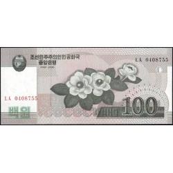 Corée du Nord - Pick 61a - 100 won - 2008 (2009) - Etat : NEUF