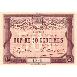 Le Tréport - Pirot 71-1 - 50 centimes - Lettre C - Sans série - 1915 - Etat : SPL
