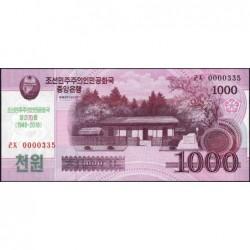 Corée du Nord - Pick CS 21 - 1'000 won - 2008 (2018) - Commémoratif - Etat : NEUF