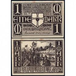 Pologne - Notgeld - Marienburg (Malbork) - 1 mark - 11/07/1920 - Etat : SUP+