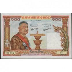Laos - Pick 6 - 100 kip - Série F.7 - 1957 - Etat : pr.NEUF