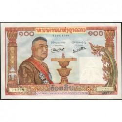 Laos - Pick 6 - 100 kip - Série U.11 - 1957 - Etat : SPL