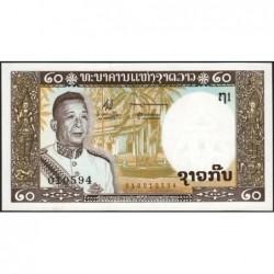 Laos - Pick 11a - 20 kip - Série 1 - 1963 - Etat : NEUF
