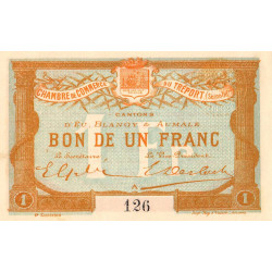 Le Tréport (Eu, Blangy, Aumale) - Pirot 71-06 - 1 franc - Etat : SPL