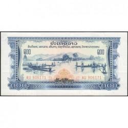 Laos - Pick 23a - 100 kip - Série AU - 1968 - Etat : NEUF
