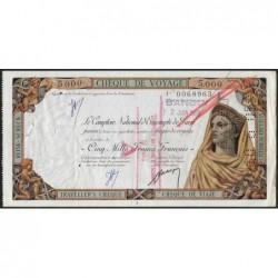 Centrafrique - Banghi - Afrique Equatoriale - 5'000 francs - 02/06/1959 - Etat : TTB+