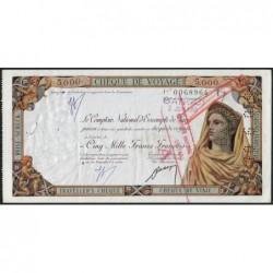 Centrafrique - Banghi - Afrique Equatoriale - 5'000 francs - 02/06/1959 - Etat : SUP