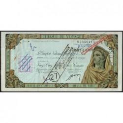 Tchad - Fort-Lamy - Afrique Equatoriale - 25'000 francs - 05/06/1959 - Etat : SUP