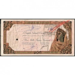 Gabon - Port-Gentil - Afrique Equatoriale - 10'000 francs - 15/04/1959 - Etat : SUP