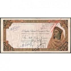 Madagascar - Tananarive - 10'000 francs - 28/05/1959 - Etat : TTB+