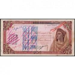 Madagascar - Fianarantsoa - 50'000 francs - 01/06/1959 - Etat : TTB+