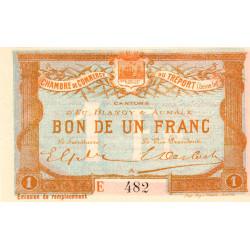 Le Tréport (Eu, Blangy, Aumale) - Pirot 71-18 - 1 franc - Etat : SUP+