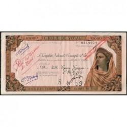 Tunisie - Tunis - 10'000 francs - 03/06/1959 - Etat : TTB+
