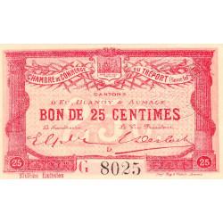 Le Tréport - Pirot 71-23 - 25 centimes - Lettre D - Série G - 6e émission - 1916 - Etat : NEUF