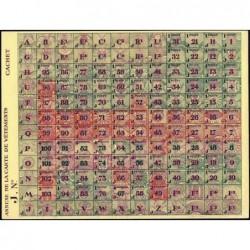 Rationnement - Vêtement - 1944 - Catégorie J - Etat : NEUF