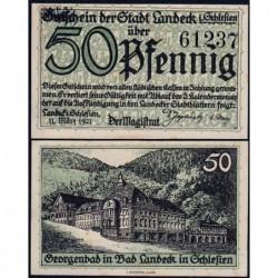 Pologne - Notgeld - Landeck (Ledyczek) - 50 pfennig - 11/03/1921 - Etat : SPL