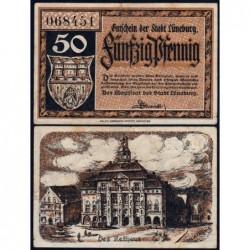 Allemagne - Notgeld - Lüneburg - 50 pfennig - 1920 - Etat : TTB