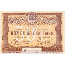 Le Tréport - Pirot 71-48 - 50 centimes - Lettre C - Série M - 12e émission - 1920 - Petit numéro - Etat : SPL