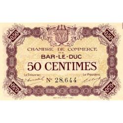 Bar-le-Duc - Pirot 19-1 - 50 centimes - Sans date (1915) - Etat : NEUF